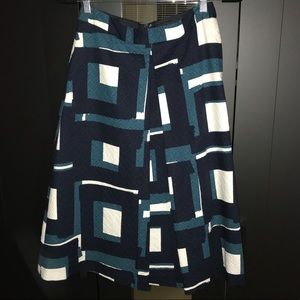A-lime Banana Republic Skirt